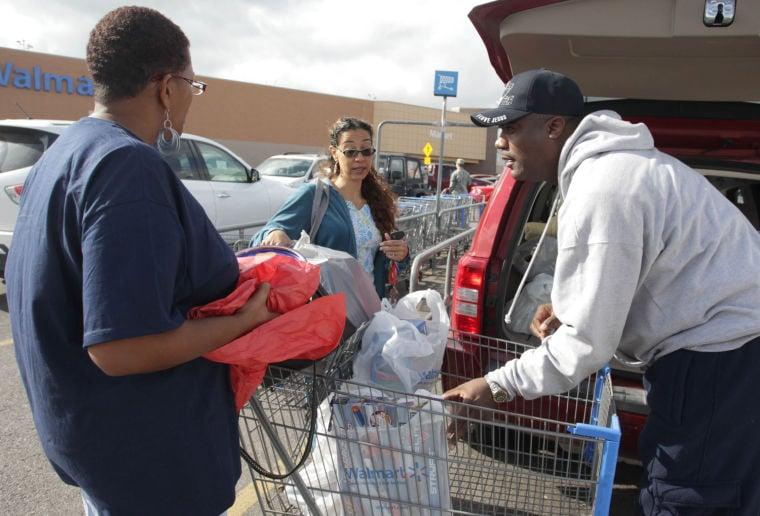 Families taken on shopping sprees for Christmas