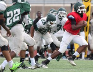 Ellison Football Scrimmage