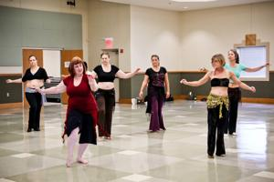 Belly dancing workshop