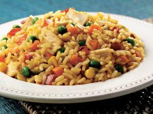 Easy arroz con pollo