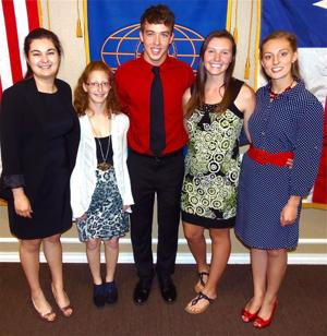 Heights Kiwanis scholarship winners