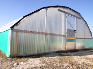 Education Foundation grant funds greenhouse at CCHS