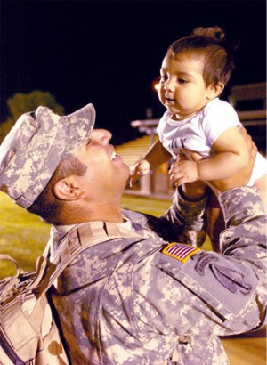 4th Brigade troops return from Iraq