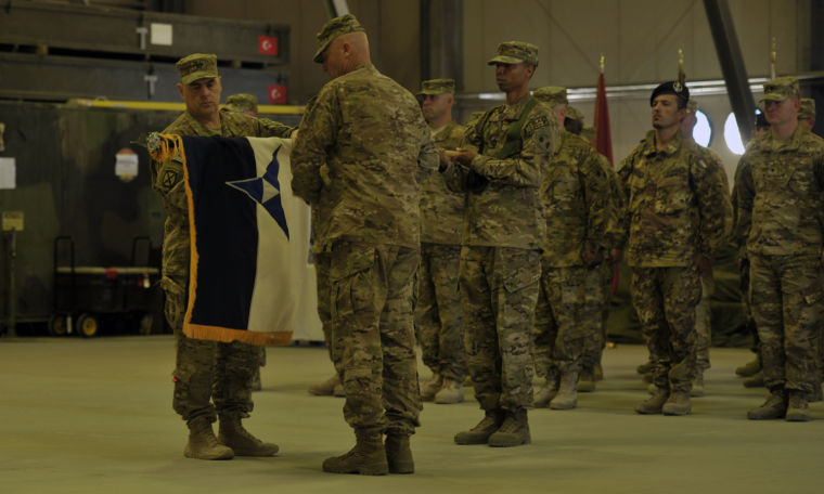 ISAF Joint Command transfer of authority