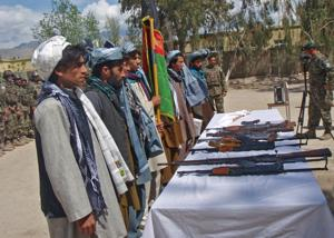 Former insurgents take part in reintegration ceremony