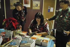 Book signing Cove House