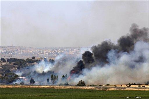 APTOPIX Mideast Israel Syria