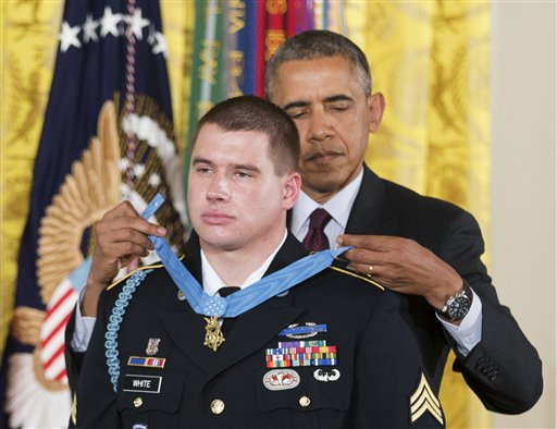 Medal of Honor presentation