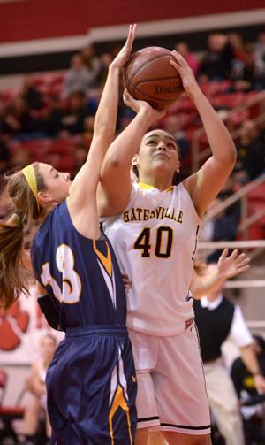 Gatesville girls vs. Stephenville