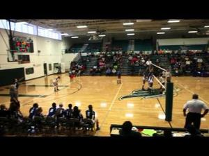 Copperas Cove vs. Ellison volleyball