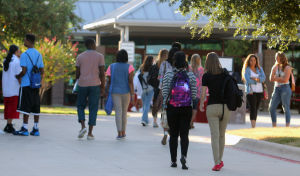 First day of school - Heights HS