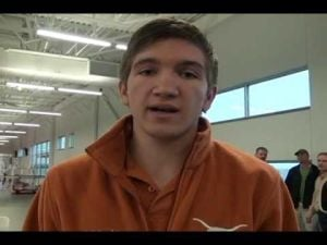 Wolf Mahler signs to The University of Texas