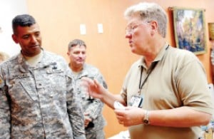 Medical center wages war on combat stress
