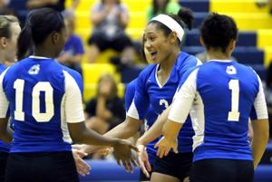 Lady Dawgs sweep Lady Knights