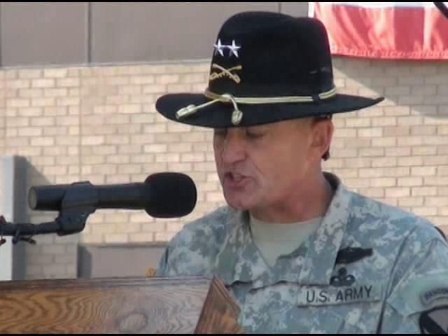 1st Cavalry holds Change of Command Ceremony