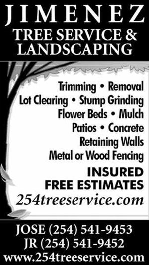 Jimenez Tree Service & Landscaping | 254-541-9453 | Killeen