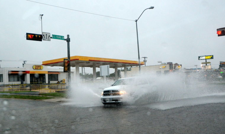 Morning storms brings flooding