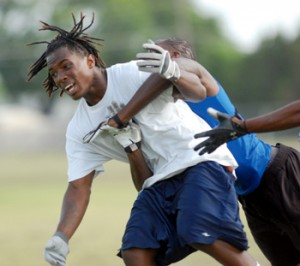 Shoemaker starts 7-on-7 league undefeated