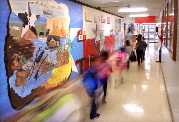 East Ward Elementary mural