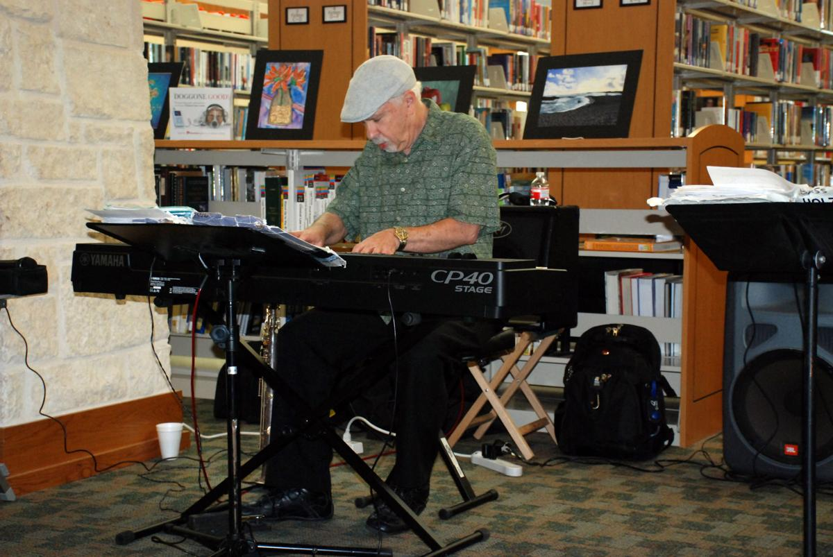 David Wild Trio at Harker Heights Library