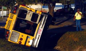 Copperas Cove school bus collides with truck