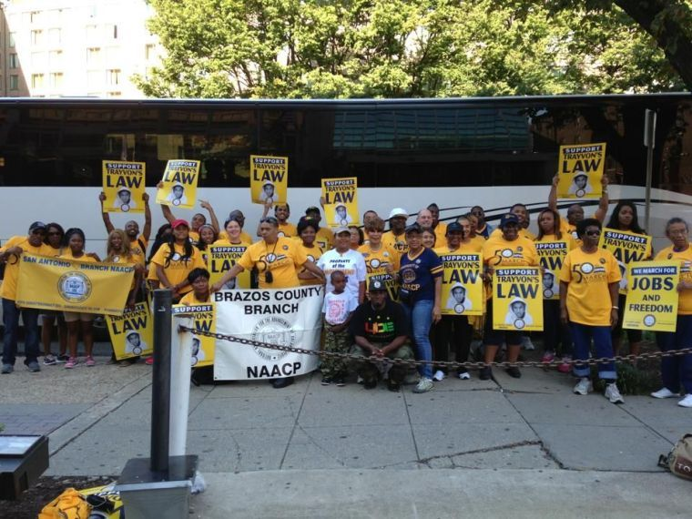Texas NAACP members go to Washington, D.C.