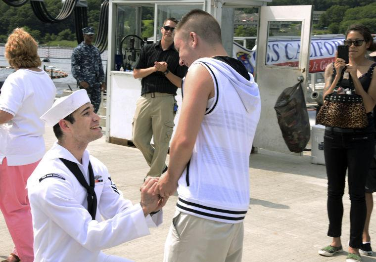 Military same-sex marriage