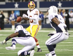 Cowboys fall to RG III, Redskins