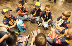 Copperas Cove Boy Scout Christmas Party