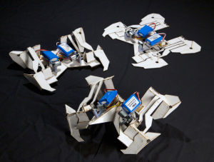 Engineers use origami to fold robots of the future