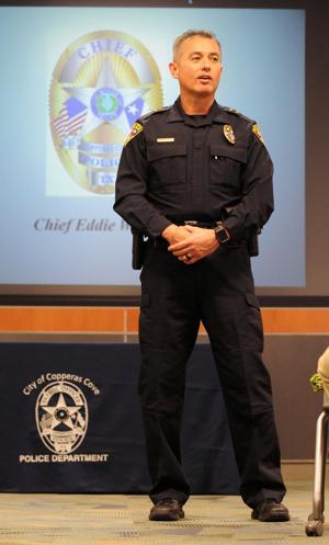 Chief of Police Eddie Wilson