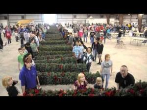 Friends of the Central Texas State Veterans Cemetery Wreath Fluffing