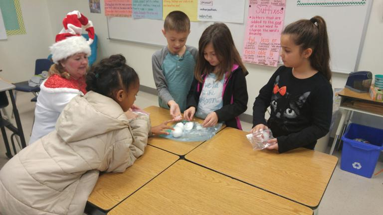 Colorado snowballs reinforce reading lesson for Williams/Ledger students