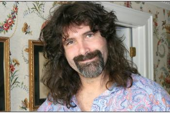 Pro wrestler Mick Foley chronicles Sting fight in his new book