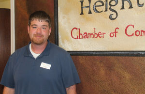 <p>Eric Kilter is the Harker Heights Chamber of Commerce's new business manager.</p>