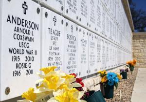 Groundbreaking at veterans cemetery