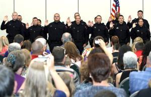 Basic Peace Officer Course graduation