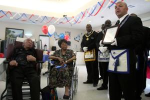 Honoring a vet