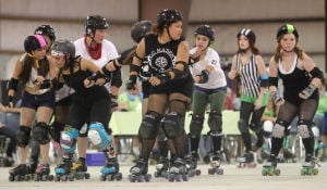 Cruisin' For Oklahoma Fundraiser Roller Derby
