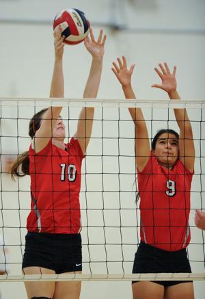 Belton v Ellison volleyball