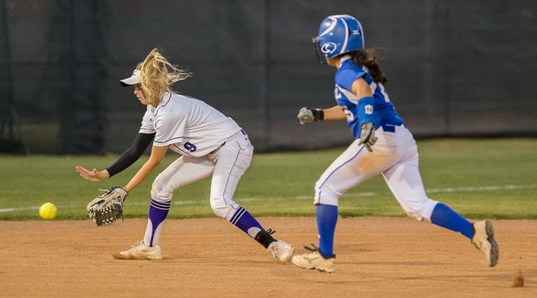 ALL-AREA SOFTBALL: Lady Badgers C Corbin, Florence SS/P Futrell share a mutual respect