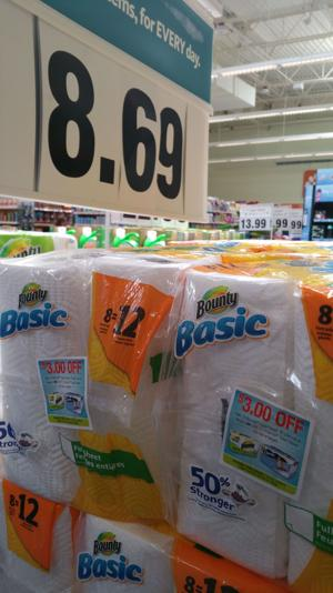 Save 57% on Bounty Paper Towels!!!