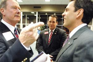 District 55 candidates speak in Temple