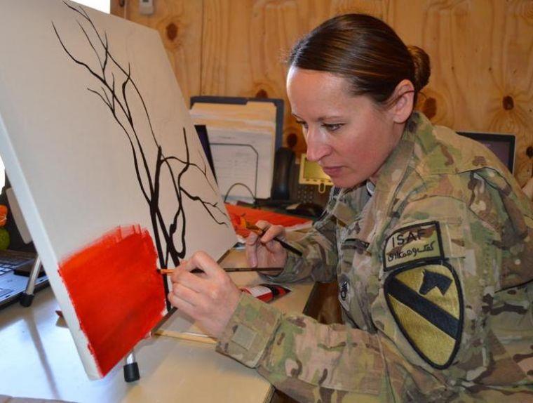 Artist in Afghanistan