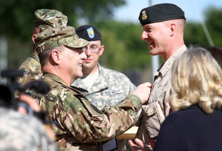 Maj. Gen. Dean Milner Promotion & Farewell Ceremony