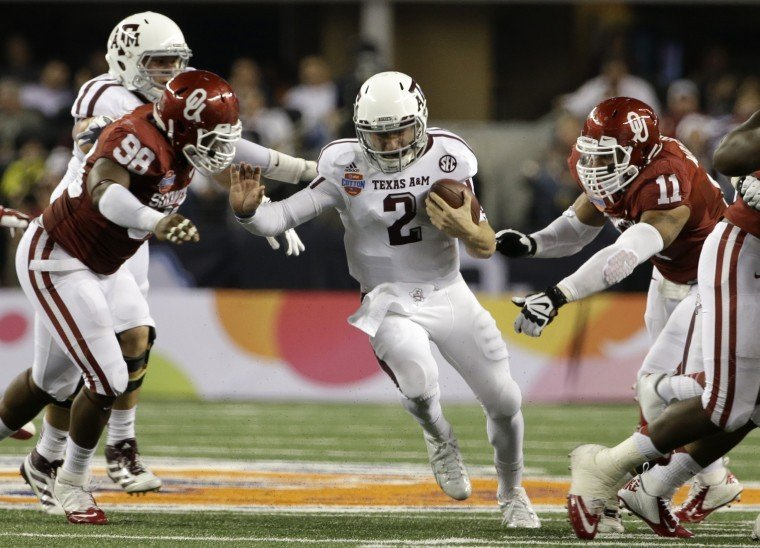Cotton Bowl: Texas A&M 41, Oklahoma 13