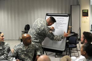 Army ethics class