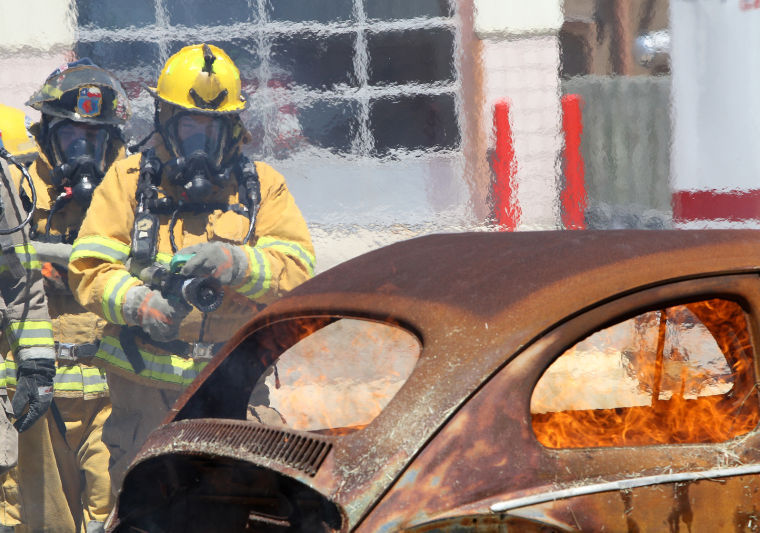 Citizens firefighter and rescue course