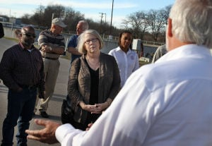 Wastewater Treatment Facility Tour for City Officials