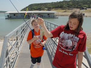 Fourth-graders go fishing for fun